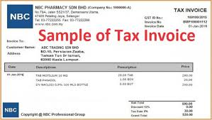Excel Invoice Template Free Gst Tax Invoice Template Free Rabitah