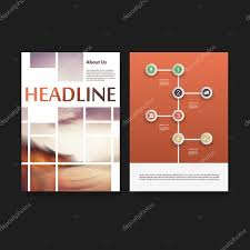 flyer or cover design template set business network corporate