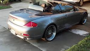 2005 bmw 645i review 2004 bmw 6 series information and photos momentcar