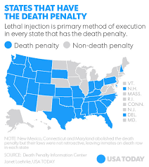 map usa penalty supreme court refuses to ban controversial method of execution