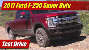 Ford F 250 Natural Gas Truck - 2017 ford f 250 super duty test drive youtube