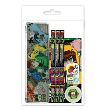 ben 10 stationery green colour