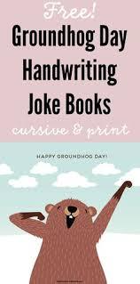 10 grouchy groundhogs book activity groundhog books
