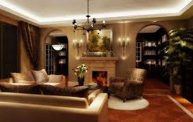 assorted living room feast with chandelier lighting