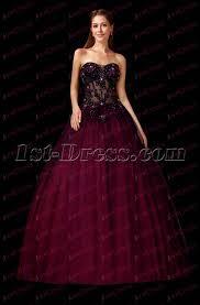 black full length 2017 quinceanera dress 1st dress com