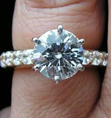 3 carat diamond engagement ring 3 carat diamond ring setting wedding promise diamond