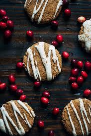 vegan christmas cookies w vanilla almond cream well and full