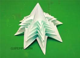 how to make origami christmas tree online 123peppy com