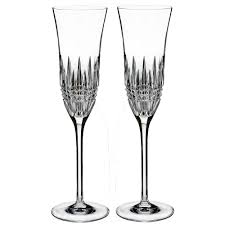 waterford lismore essence flute pair waterford