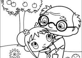 ni hao kai lan coloring pages coloring4free