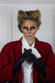 how to do halloween makeup love this fox costume almost completely created by the hair and