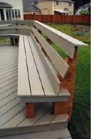 Deck Bench Bracket Bench Brackets For Deck Or Dock Rockler Woodworking Tools
