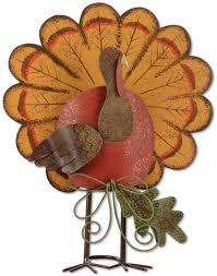 thanksgiving turkey decor set of 2 gardenfun