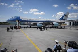 trump talks to boeing ceo about threat to cancel air force one