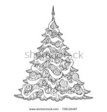 christmas coloring page stock images royalty free images