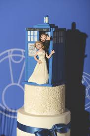 dr who wedding cake topper in honour of our wedding anniversary tomorrow here s some
