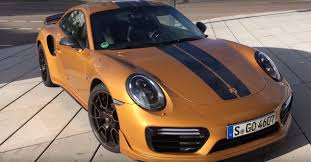 porsche 911 turbo s exclusive series hits 213 mph 343 kph in top
