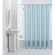 Pictures Of Shower Curtains In Bathrooms Navy Blue Shower Curtain Scheduleaplane Interior Cool Ideas