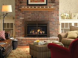 natural gas fireplace inserts vented logs vent free menards