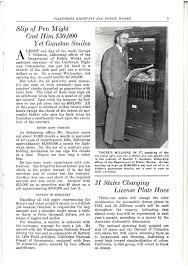 1931 Periodicals CALIFORNIA HIGHWAYS AND PUBLIC WORKS NOVEMBER 1931