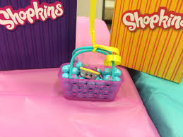 shopkins themed birthday party favor bags bought from