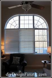 diy design fanatic new window treatments for the family room