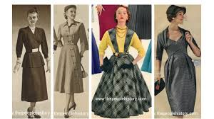clothes and men u0027s and ladies fashions in the 1950 u0027s prices and