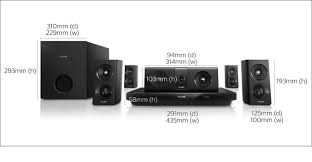 d home theater system 5 1 3d blu ray home theater htb3520 40 philips