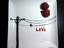 painted platter 63 best valentines day images on valantine day