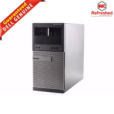 dell optiplex 9020 tower desktop chassis with motherboard and