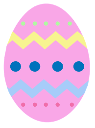 pink easter eggs free illustration easter egg pink chevron free image on