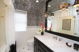 perfect wallpaper in bathrooms for your home decor ideas with
