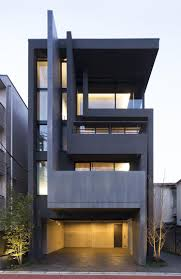 17 best images about residences block planar simple and elegant okm 4 story building designed for a private residence and apartment in tokyo by artechnic