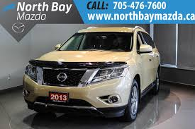 nissan pathfinder for sale in pakistan pre owned 2013 nissan pathfinder sport utility in north bay u6099