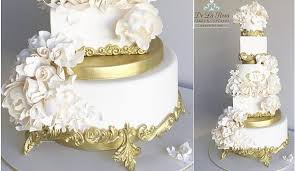 gold wedding cake stand edible cake stands plus tutorial cake magazine