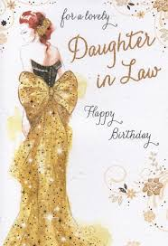 happy birthday daughter in law jerzy decoration