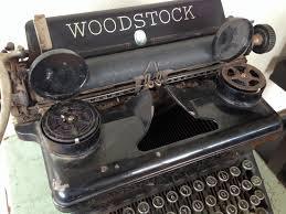 woodstock no 5 typewriter by woodstock typewriter co 1933