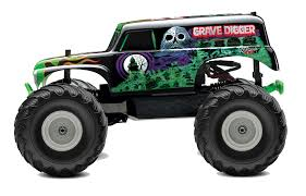 large grave digger monster truck toy traxxas 7202a