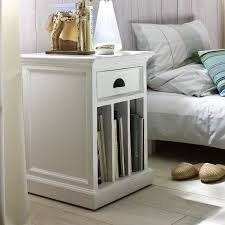 nightstands nightstand with baskets with fresh bedroom appealing