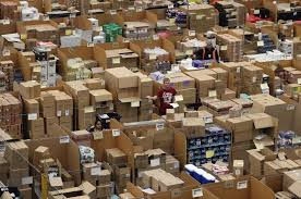 amazon reveals black friday deals inside the amazon warehouse where staff rush to fulfil black
