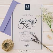 wedding invitations freepik sophisticated wedding invitation vector free