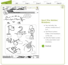 free math worksheets kindergarten 2 spot the hidden numbers