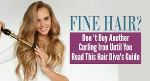 curling irons that won t damage hair the best curling irons for fine hair mean effortless elegance