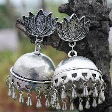 earrings online earrings shop german silver earrings jhumkas online at