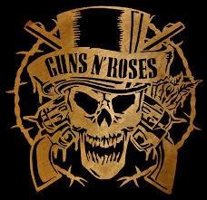 guns n roses scrolled digital by michael bergman