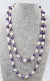 amethyst necklace beads images Frershwater pearl white baroque 8mm amethyst necklace 45inch jpg