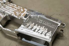 engraving services ar15 80 billet lower custom engraved only easy day was