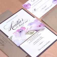 Wedding Invitations Purple The 25 Best Purple Wedding Invitation Suites Ideas On Pinterest