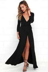 best 25 black wrap dresses ideas on pinterest wrap style black