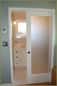 Bathroom Door Designs Fine Bathroom Pocket Doors Lowes Good Looking Dsc 0784 For Decor